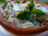 Misky z kynutého těsta na saláty, guláše atd. recept