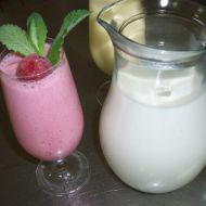 Jahodový koktejl se zmrzlinou recept