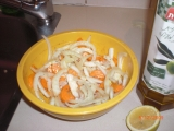 Fenyklovy salat s mrkvi recept