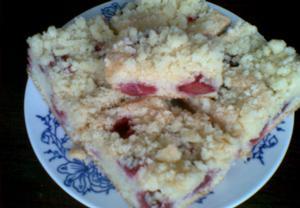 Piškotovo-vanilková bublanina s drobenkou = jahodová  Recepty ...