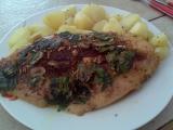 Grilovaný pangas s česnekem a libečkem recept