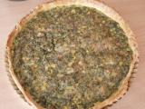 Slaný špenátový koláč recept