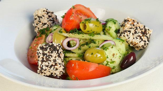 Řecký salát s balzamikem