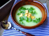 Krémová polévka z tuřínu s opečeným chilli tofu recept  TopRecepty ...