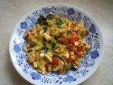 Cuketové těstoviny s tofu recept