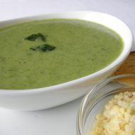 Jemná špenátová polévka s bulgurem recept