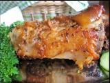 Koleno pečené v hrubozrnné hořčici recept