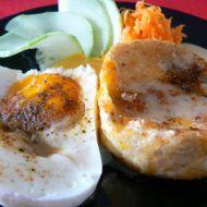 Hermelín s curry omáčkou recept