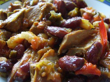 Papazjanija (Dušené maso se zeleninou)