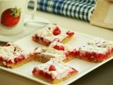 Sněhový rybízový koláč recept