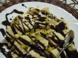 Rozmačkané banány s čokoládou recept