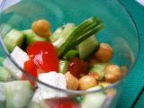 Cizrnový salát s fetou recept