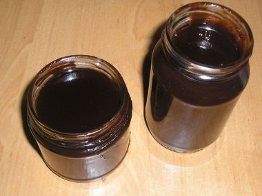 Jemná švestková čokoláda