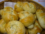 Housky nebo bagetky s pórkem recept