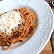 Špagety chorizo recept
