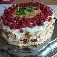 Australský dort Pavlova recept