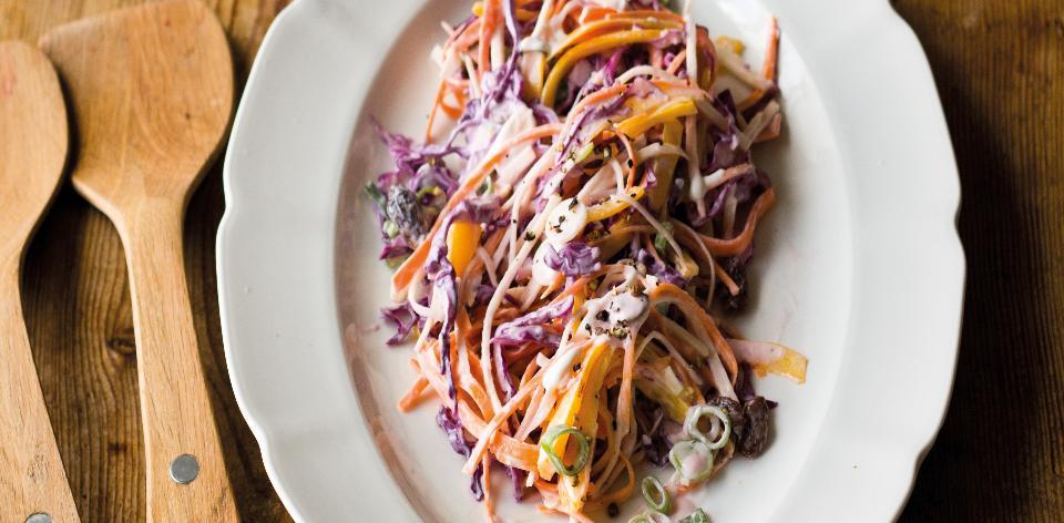 Domácí salát coleslaw