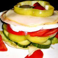 Skládaný salát recept