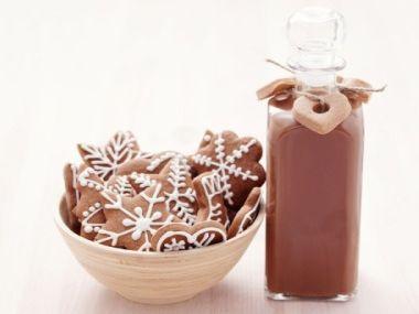 Vánoční skořicovo-čokoládový likér