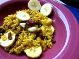 Ovocná kari rýže recept