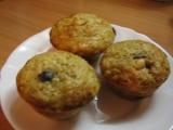 Rozinkový muffins s ovesnými vločkami recept
