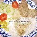 Krevety na česnekovém másle recept  mořské plody