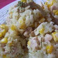 Kuřecí rizoto s kukuřicí recept