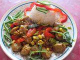Sojové maso na zelenině recept