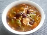 Bobový hrnec s ačokčou ( s paprikou ) recept