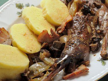Recept Bažant s ovocem