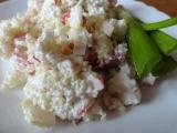 Krabí salát s kuskusem recept
