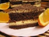 Dort s pomerančovou pěnou recept
