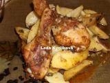 Kuřecí paličky na tymiánových bramborách recept
