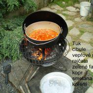 Fazolková polévka se smetanou recept