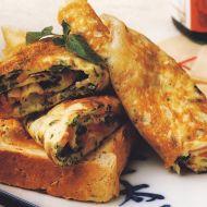 Omeleta se slaninou a bylinkami recept