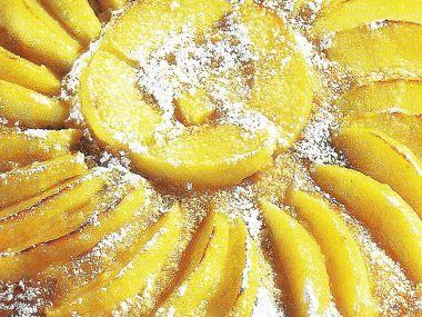 Jablkový koláč jednoduchý