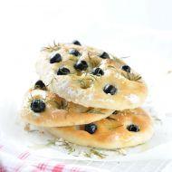 Focaccia  olivová placka recept