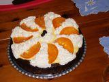 Pomerančový dort s čokoládou recept