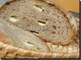 Sýrový chléb (s prefermentem) recept