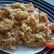 Rajčatová rýže s tuňákem recept