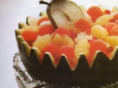Ovocný salát s melounem
