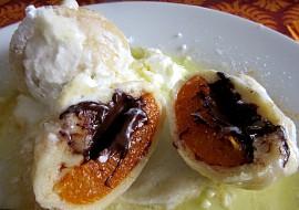 Tvarohové meruňkové knedlíky s čokoládou recept