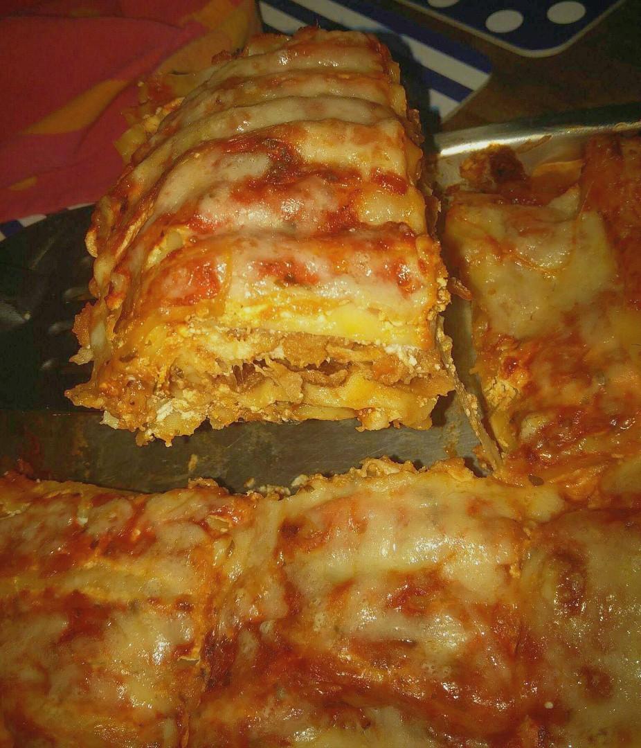 Netradiční kuřecí lasagne recept