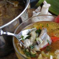 Kuřecí polévka se žampiony 1 recept