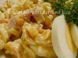 Těstovinový salát se šunkou a kořenovou zeleninou recept ...