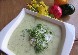 Krémová polévka z řeřichy recept
