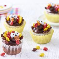 Velikonoční cupcakes s krocany recept