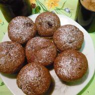 Čokoládové muffiny s višněmi recept