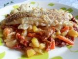 Treska v zeleninovém lůžku recept