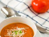 Rajčatová polévka s parmazánem recept
